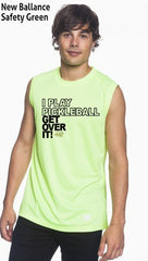 I Play Pickleball Get Over It Men's New Balance Ndurance Sleeveless Tee