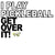 I play Pickleball Get Over It Unisex Champion Camo Colors Athletic Workout Tee