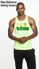 Go Pickleball Or Go Home! Men's New Balance Tank Top Singlet