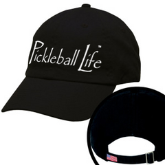 PICKLEBALL LIFE TM. EMBROIDERED BASEBALL CAP