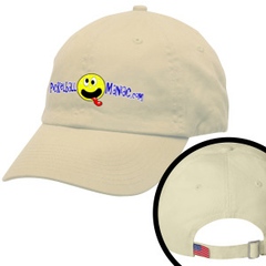 Pickleball Maniac Embroidered Baseball Cap