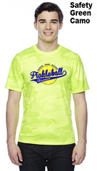 Henrico Pickleball Unisex Color Print Champion Camo Colors Athletic Workout Tee