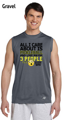 All I Care About Is Pickleball Men's New Balance Ndurance Sleeveless Tee
