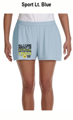All I Care About Is Pickleball Ladies' All Sport for Team 365 Ladies' Performance Short