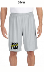 I Dink Therefore I Am Men's All Sport for Team 365 Men's Performance Short
