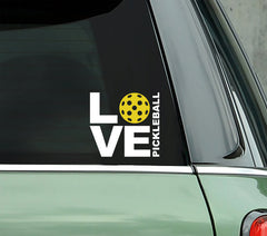 LOVE Pickleball - PICKLEBALLXTRA VINYL STICKER