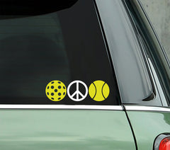 Peace Pickleball - PICKLEBALLXTRA VINYL STICKER