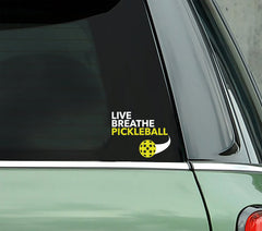 Live Breathe Pickleball - PICKLEBALLXTRA VINYL STICKER