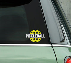 Pickleball - PICKLEBALLXTRA VINYL STICKER