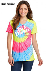 I'm A Dinker Ladies Essential Tie-Dye V-Neck Tee