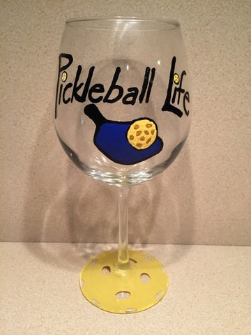 WINE GLASS - Pickleball Life