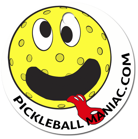 Pickleball Maniac Keychain