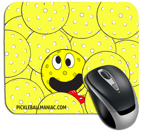 Pickleball Maniac Mouse pad