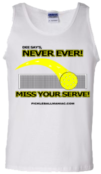 Never Ever Miss Your Serve Tank Top