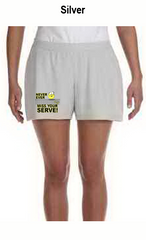 Never Ever Miss Your Serve Ladies' All Sport for Team 365 Ladies' Performance Short