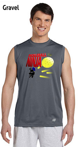 Pickleball Ninja Men's New Balance Ndurance Sleeveless Tee