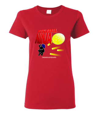 PICKLEBALL NINJA WOMEN'S TEE