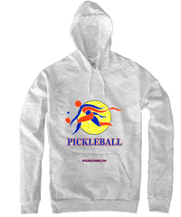 COLLEGE BLUE & ORANGE PICKLEBALL HOODY