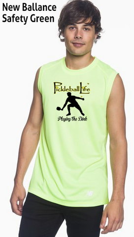 Playing the Dink Men's New Balance Ndurance Sleeveless Tee