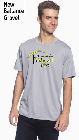 Pickleball Life - Serve, Dink, Score -  Men's New Balance Ndurance Athletic Workout Tee