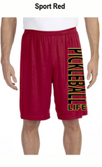 Pickleball Life Verticle Men's All Sport for Team 365 Men's Performance Short