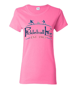 PICKLEBALL LIFE EST. 1965 WOMEN'S COTTON TEE