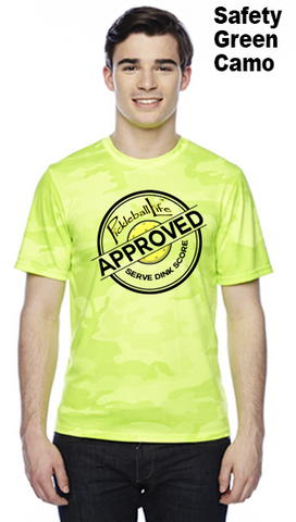 Pickleball Life Approved Unisex Champion Camo Colors Athletic Workout Tee