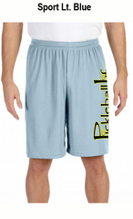 Pickleball Life Sideways Men's All Sport for Team 365 Men's Performance Short