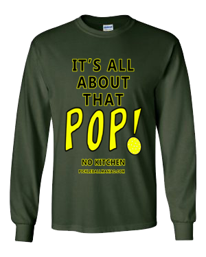 ITS ALL ABOUT THAT POP LONG SLEEVE SHIRT