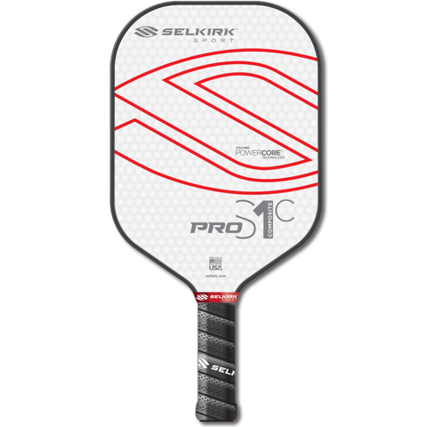 Selkirk Pro S1C and S1C+ Polymer Composite Pickleball Paddle
