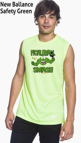 Pickleball Smash Men's New Balance Ndurance Sleeveless Tee