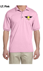 Pickleball Life Wings 50/50 POLY/COTTON UNISEX POLO SHIRT