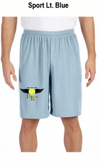Pickleball Life Wings Men's All Sport for Team 365 Men's Performance Short