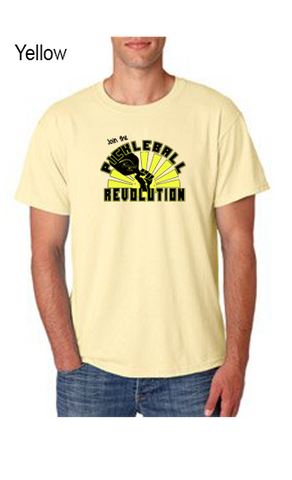 Join The Pickleball Revolution 50/50 POLY/COTTON UNISEX TEE