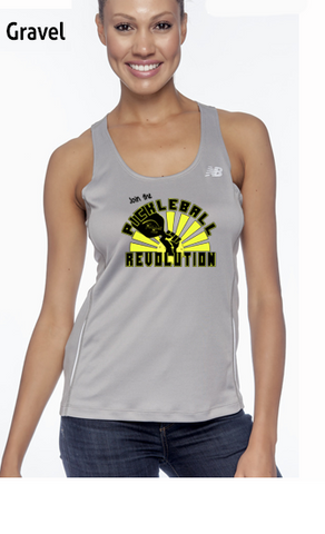 Join The Pickleball Revolution Ladies' New Balance Performance Quick Dry Singlet Tank