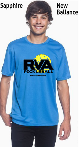 RVA Pickleball Men's New Balance Ndurance Athletic Workout Tee