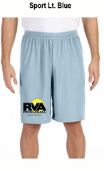 RVA Pickleball Men's All Sport for Team 365 Men's Performance Short