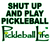 SHUT UP AND PLAY PICKLEBALL WOMEN'S COTTON TEE