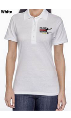 Pickleball Is A Smart Person's Sport 50/50 POLY/COTTON WOMEN'S POLO SHIRT