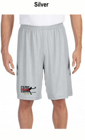 Pickleball Is A Smart Person's Sport Men's All Sport for Team 365 Men's Performance Short