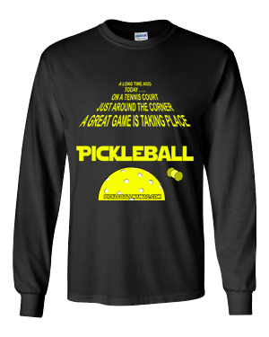 THAT SPACE MOVIE WE KNOW PICKLEBALL LONG SLEEVE SHIRT