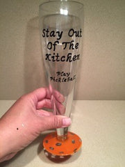 PILSNER GLASS - Stay out of the Kitchen