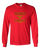 RETIRED THEREFORE I PLAY PICKLEBALL LONG SLEEVE SHIRT