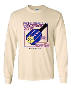 PICKLEBALL TOUR LONG SLEEVE SHIRT