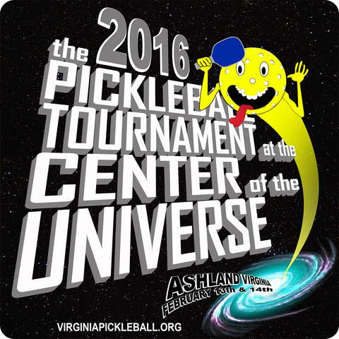 the Pickleball Tournament at the Center of the Universe