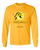 COLLEGE GOLD & BLACK PICKLEBALL LONG SLEEVE SHIRT