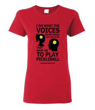 PICKLEBALL VOICES WOMEN'S TEE