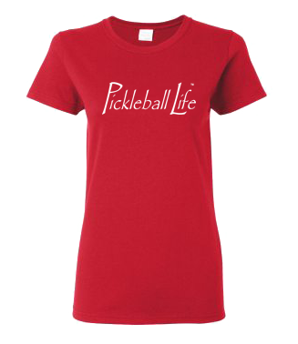 PICKLEBALL LIFE TM. SMOOTH TEXT WOMEN'S TEE