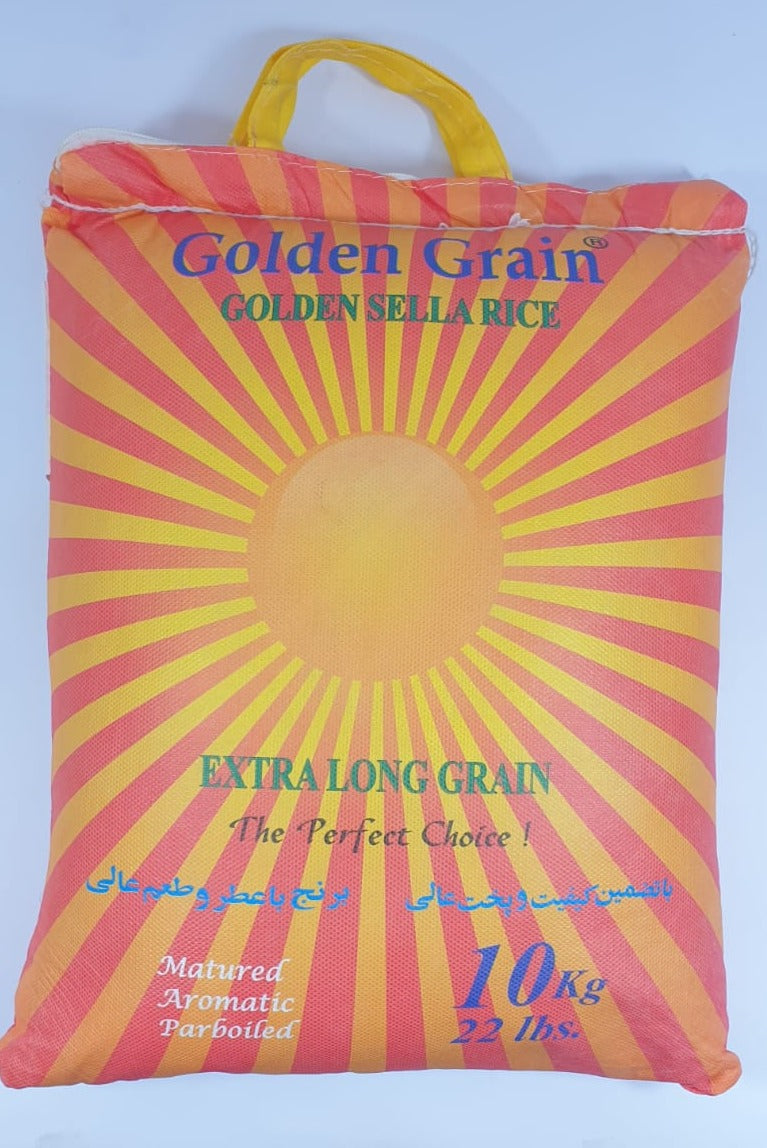Basmati Sella Rice - Golden Grain
