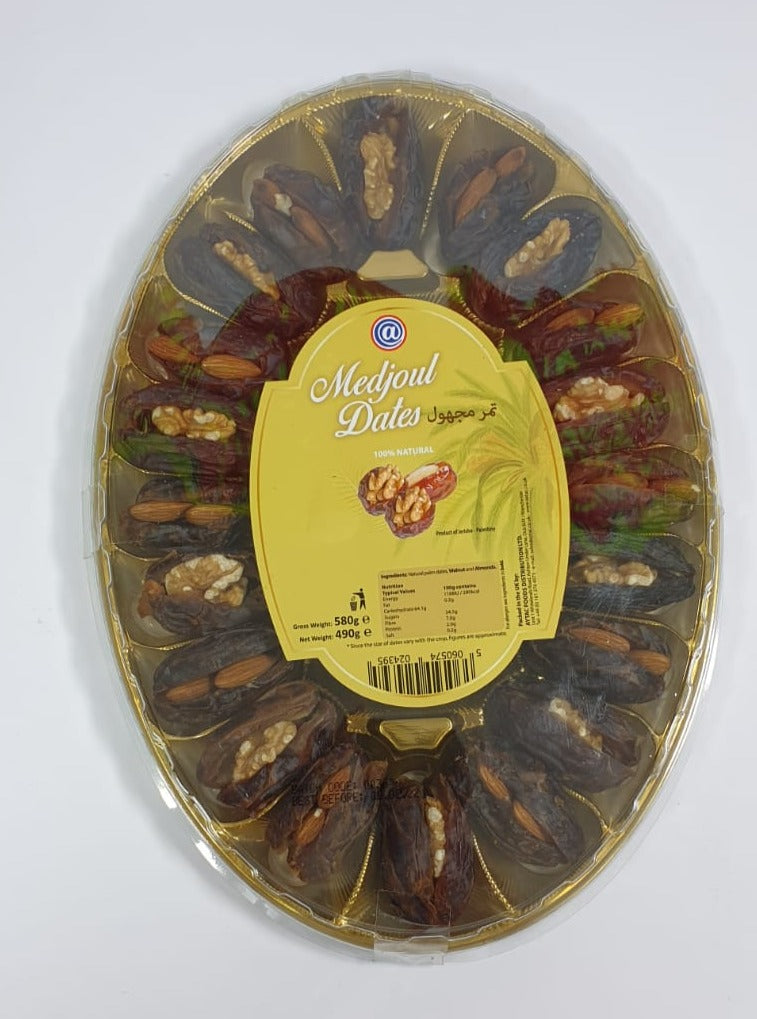 Dates Medjoul w/ Almonds & Walnuts - 580g